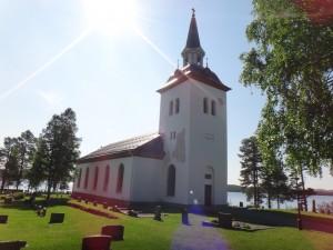 Hotagens kyrka med plats för 500 personer