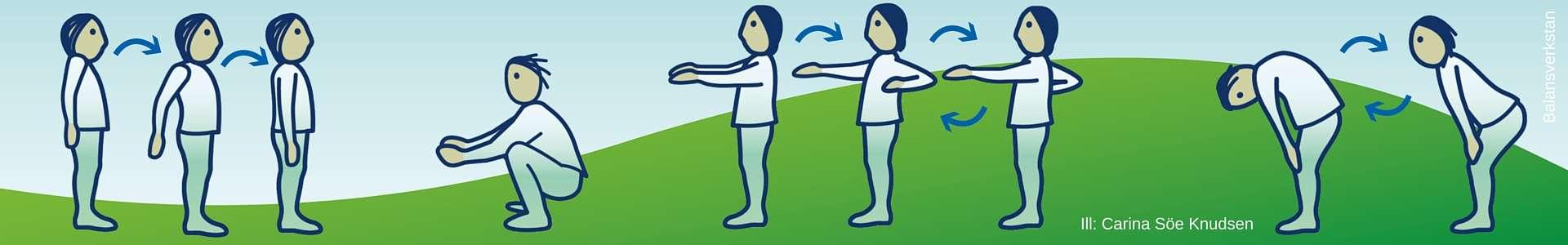 Sköna mikropauser som energiladdar kroppen på några sekunder. Ill: Carina Söe Knudsen.