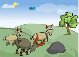 Tegningene er laget av Mokhtar Barazesh  i Creaza.no  og er hentet fra Tema morsmål