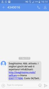 sms svaghissimo