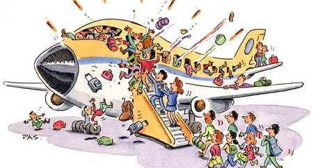 overbooking aereo