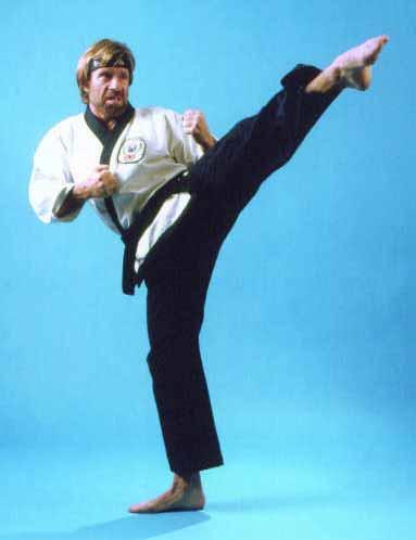 Imagen exclusiva de Gustavo Gorriti enviando la nota desde Brasil hasta el Perú con una patada. Foto: taekwondosource.com