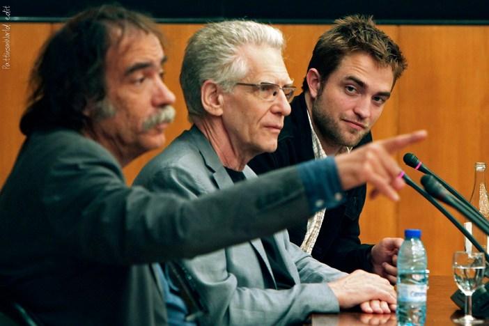 """Trabajo con David Cronenberg en """"Cosmópolis"""", protagonizada por Robert Pattinson, cinta presentada en el Festival de Cannes"""