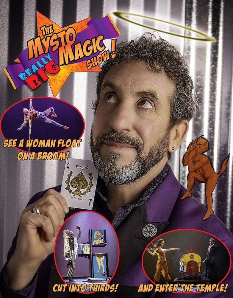 Mysto Magic Show Poster