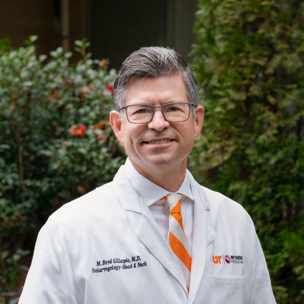UTHSC ENT - Dr. M. Boyd Gillespie