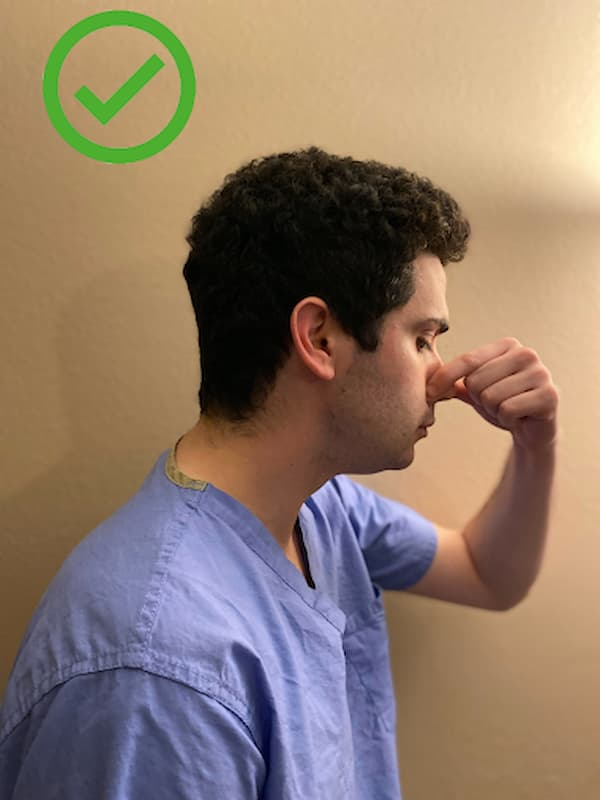 UTHSC ENT - Ask a Doctor - How to Stop a Nosebleed - 1