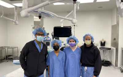 Our Skull Base Surgery Crew Hosts Hutchison Students