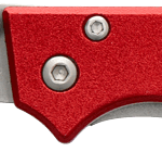Stealth 7 knife by Utica USA - red handle