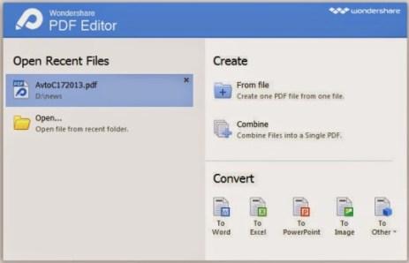 Wondershare PDF Editor Pro Crack