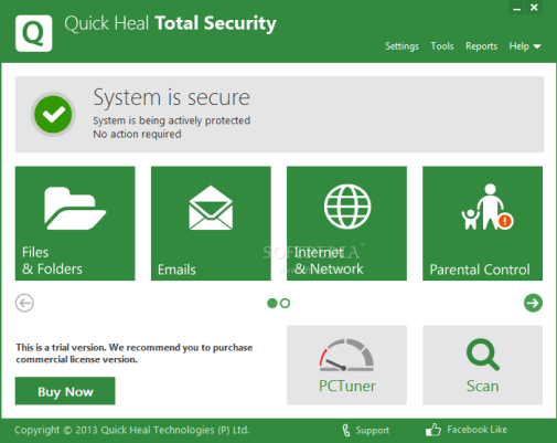 Quick Heal Total Security Lifetime Crack