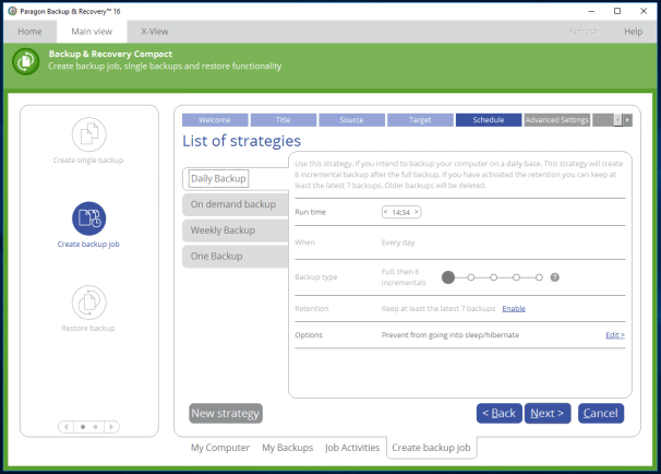 Paragon Backup & Recovery Free Download