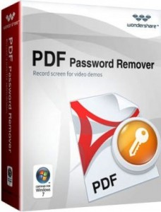 Wondershare PDF Password Remover Crack