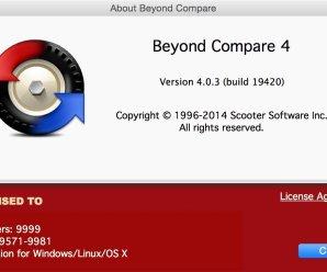 Beyond Compare 4.2.3 Crack