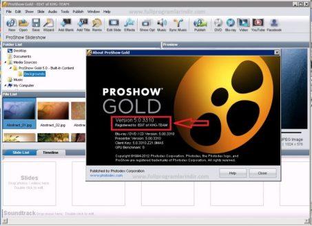 ProShow Gold Registration Key