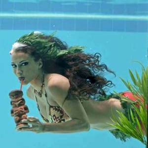 Under water burlesque show at the B ocean resort