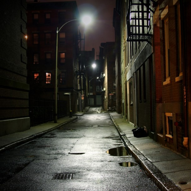 dark-street-ipad-background