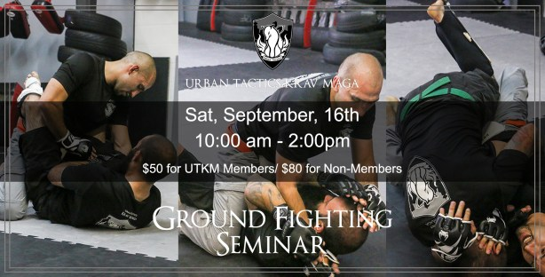 Ground fighting Seminar september 16th