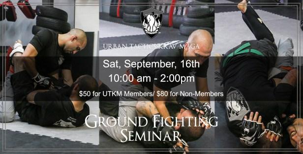 Ground fighting Seminar september 16th