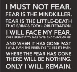 I Must Not Fear 1