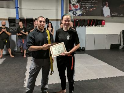 Karis Orange Belt