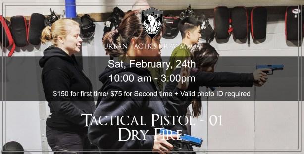 Tactical Pistol 01 February 2018