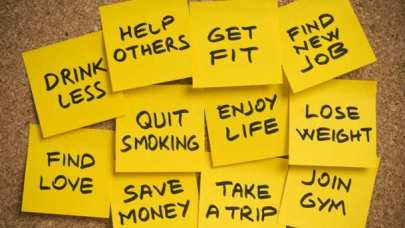 Cliche New Years Resolutions