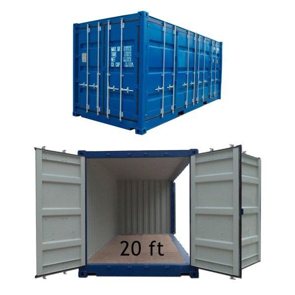 Container utleie 20ft Alta-Lakselv-Porsanger 20ft med sideåpning