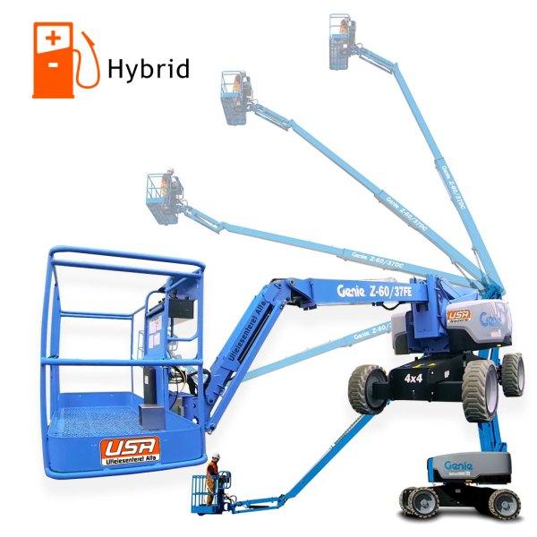 Hybrid liftutleie Genie-Z60/37 FE