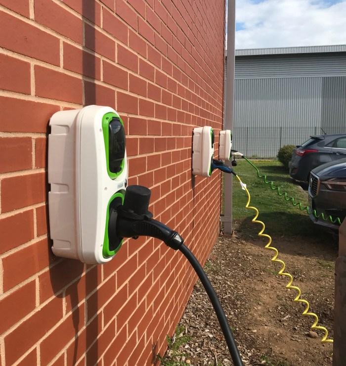Rolec EV Wall Pod Installation