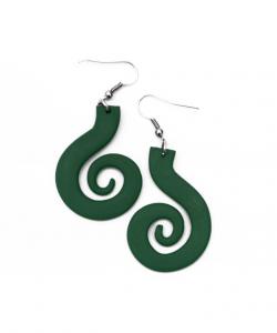 Espiral grande verdes