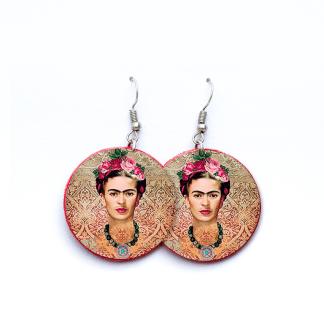 Pendientes Frida Kalho