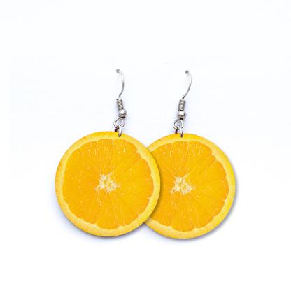 Pendientes Naranjas