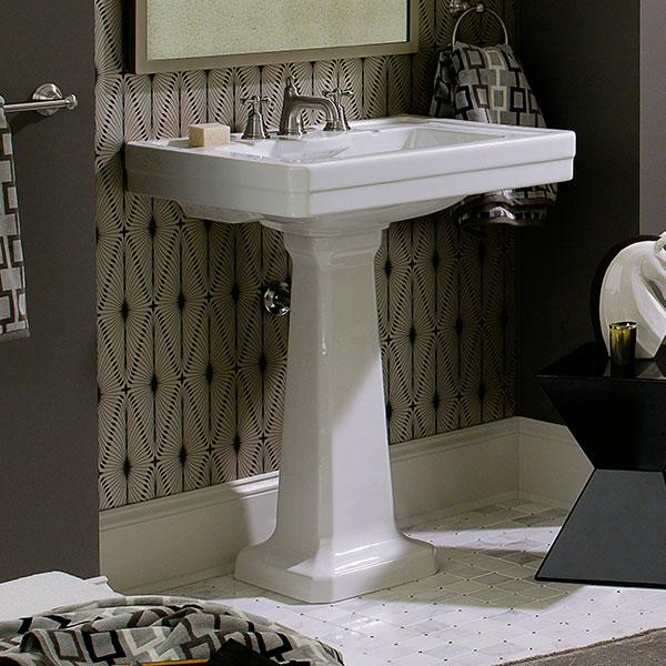 dxv fitzgerald 24 pedestal sink