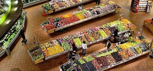 Supermarkt Obst Gemüse Aldi Lidl Rewe Edeka