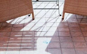 to clean tile floors without chemicals