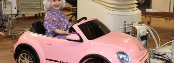 Little Girl Stress In Surgery Helped