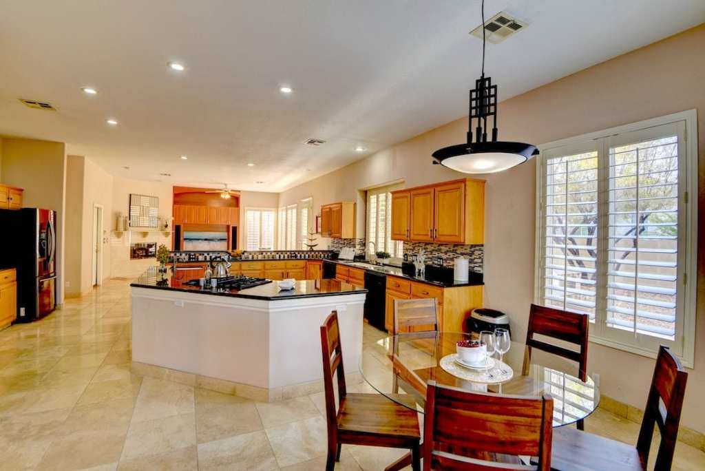 Staged Legacy Golf Estates Home, Utopia Home Staging Vegas