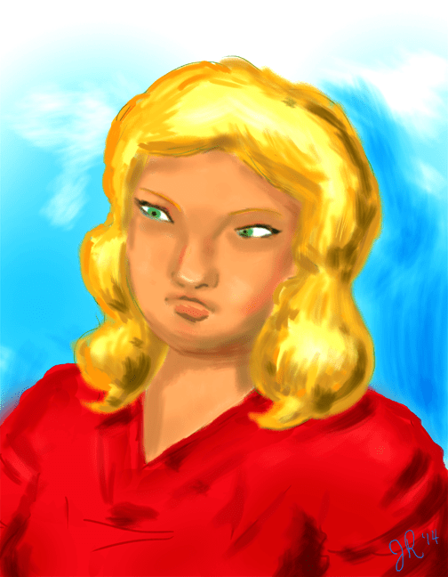 blonde-sketch