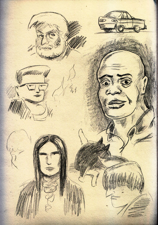 Friday-sketches
