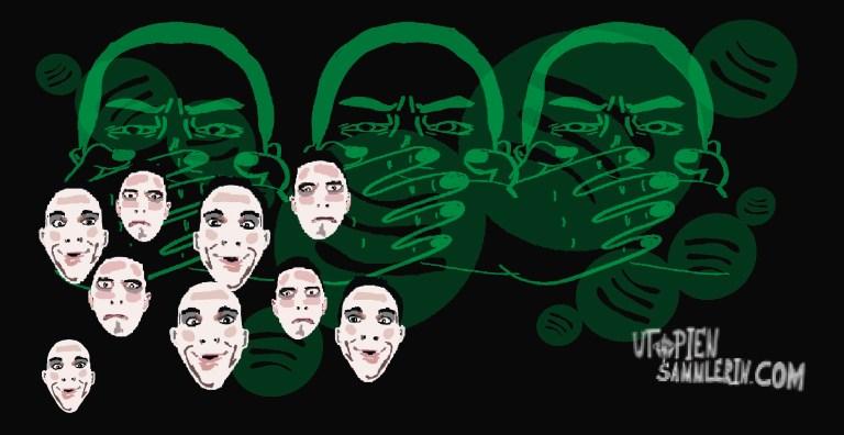 Spotify im Kopf der Hörer