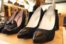 Chanel pointy-toed pump at Moss — $575