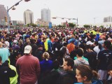 A sea of 16,000 runners came out for the 37th annual Cap 10k in Austin, Texas. The Statesman Capitol 10,000 is the largest 10k race in Texas.
