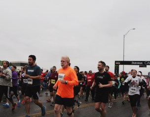 Runners of all ages participated in the Cap 10k that benefited Safe Place, an agency that strives to end domestic violence in Austin and Travis County.