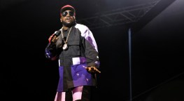 Big Boi pauses for a moment, jigging to 20 years of hits.