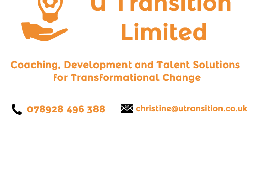 U Transition limited logo and contact details