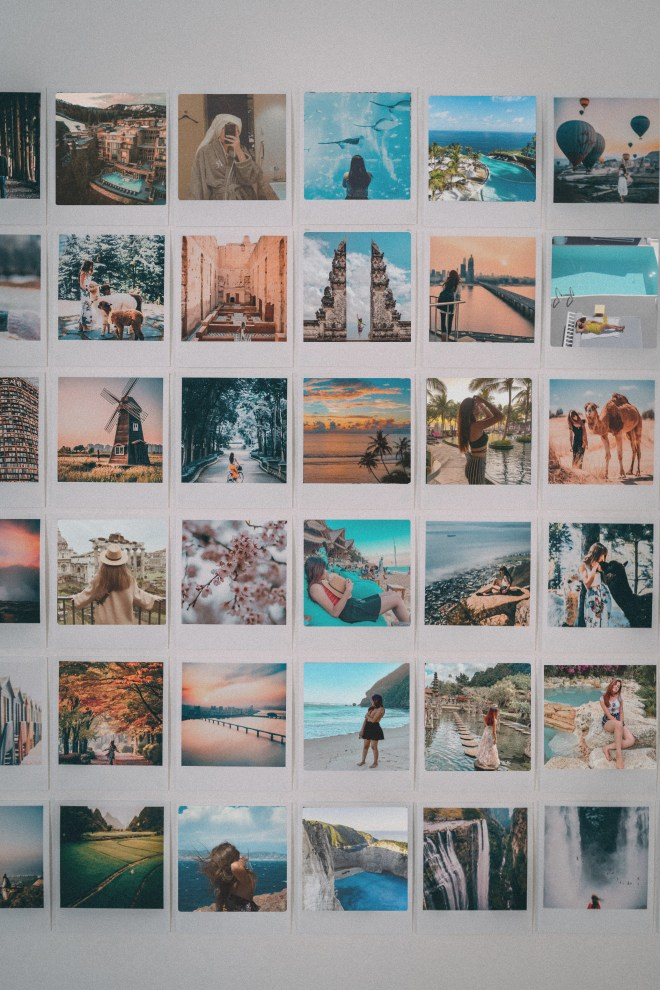 Polaroid Wall by Udeety (Uditi Bhatt)