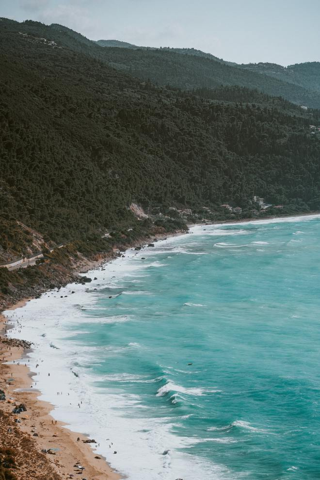 lefkada beaches island greece