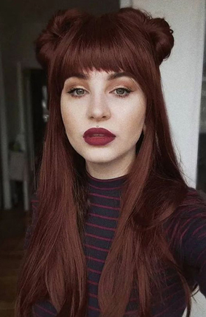nijanse crvene boje kose braonkasto crvena nijansa