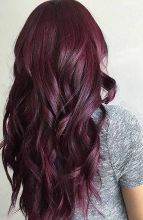 nijanse crvene boje kose boja sljive