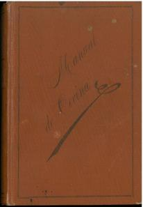 Manual de Cocina : Recetas (1905) by María Isla.